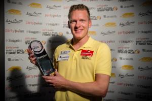 Feijen wins 2013 Masters