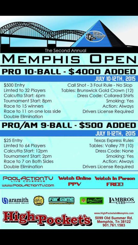 Memphis Open Flyer